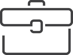 Briefcas 1 Minimal Icon