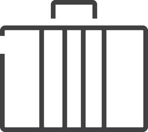 Briefcas 2 Minimal Icon