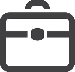 Briefcase 2 Stroke Icon