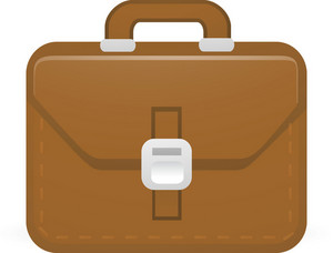 Briefcase Lite Art Icon