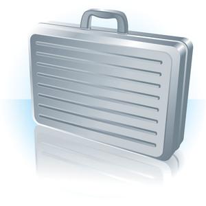 Briefcase. Vector.