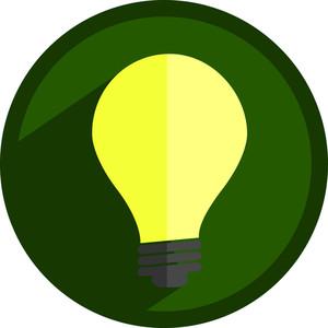 Bright Bulb Icon