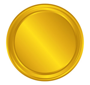 Bright Coin Shape