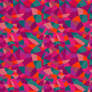 Bright Colors Mosaic Seamless Pattern
