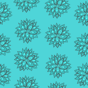 Bright Floral Seamless Texture