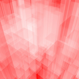 Bright Glowing Pink Glass Background With Artistic Cubes Or Squares