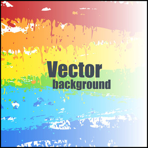 Bright Rainbow Background