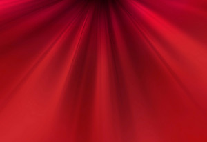 Bright Red Flowing Background