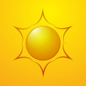 Bright Sun Design Icon