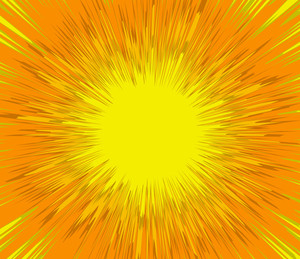 Bright Sunburst Backdrop