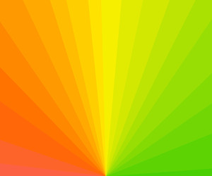 Bright Sunburst Background