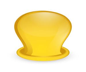 Bright Yellow Cauldron