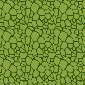 Green Dinosaur Skin Pattern