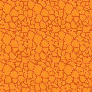 Yellow Dinosaur Skin Pattern