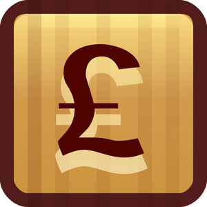 British Pound Brown Tiny App Icon
