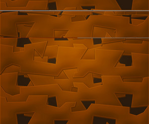 Brown Abstract Shapes Background