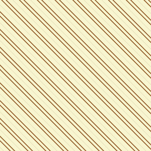 Brown And Beige Retro Stripes Pattern