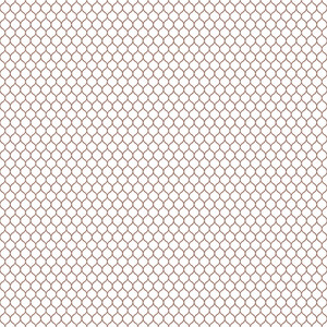 Brown And White Chain Link Pattern
