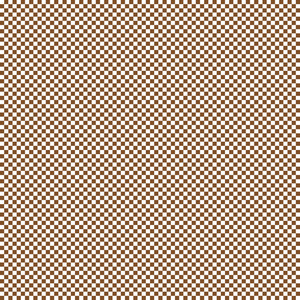 Brown And White Checkerboard Minecraft Pattern
