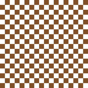 Brown And White Checkerboard Pattern