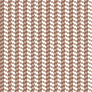 Brown And White Chevron Pattern
