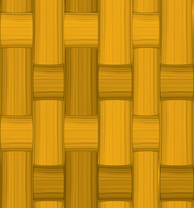 Brown Bamboo Mat. Seamless Vector Texture.