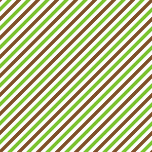 Brown, Green And White Diagonal Striped Pattern