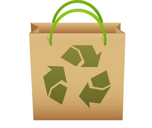 Brown Recycle Bag
