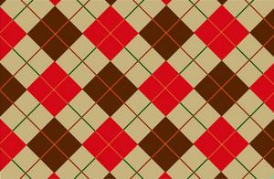 Browny-red Tartan