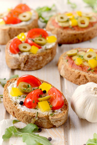Bruschetta Vegetarian