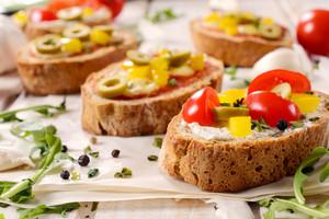 Bruschetta Sandwich