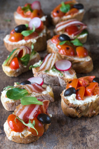 Bacon Bruschetta