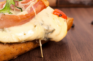 Melted Blue Cheese