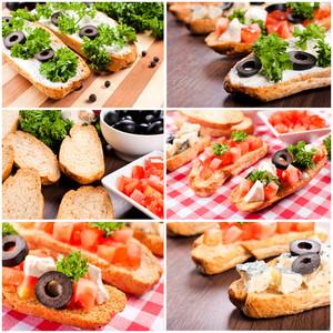 Vegetarian Bruschetta