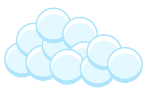 Bubbles Cloud Design