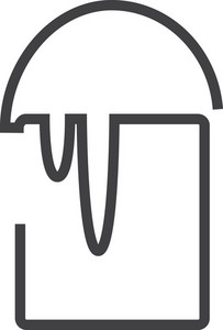 Bucket 1 Minimal Icon