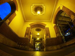 Budapest Building Interior
