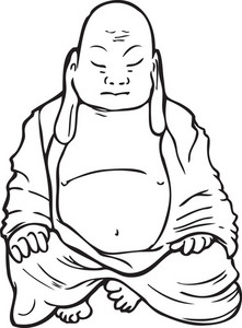 Buddha Vector Element