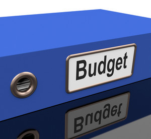 Budget File With Report On Spending Plan