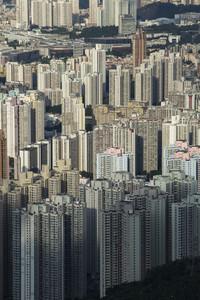 Building apartment pattern Hong Kong living.