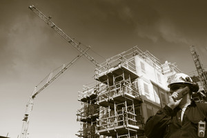 building worker and industry