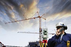 building worker inside plant