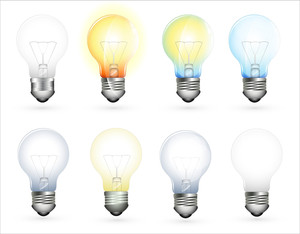 Bulbs Vector Set