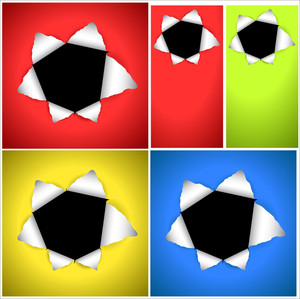 Bullet Hole Vector Backgrounds