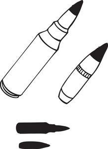 Bullet Vector Element