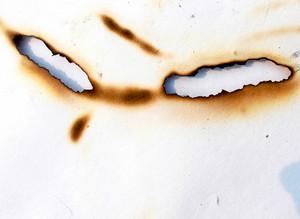 Burnt Paper Texture