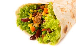 Burrito Isolated