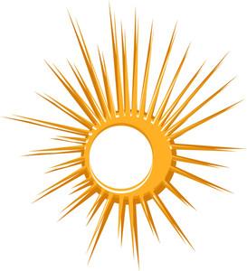 Bursting Sun