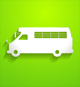 Bus Vector Shape