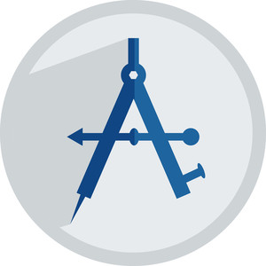 Business Compass Icon